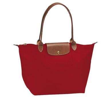 Longchamp Le Pliage Long Handle Large